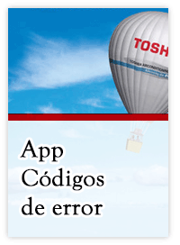 App códigos de error