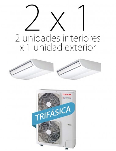 Aire por conductos SPA 80 Inverter