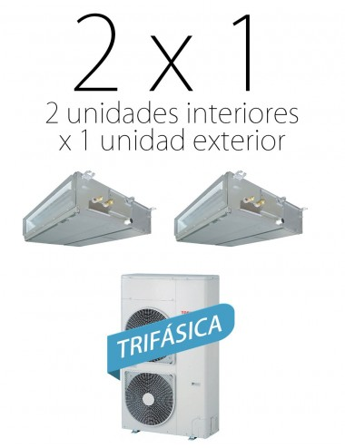 Aire por conductos SPA Plus 40 Inverter