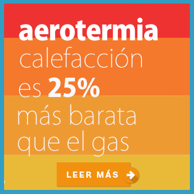 aerotermia calefacción es más barata que el gas