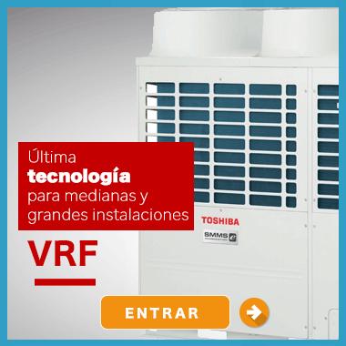 VRF para grandes obras