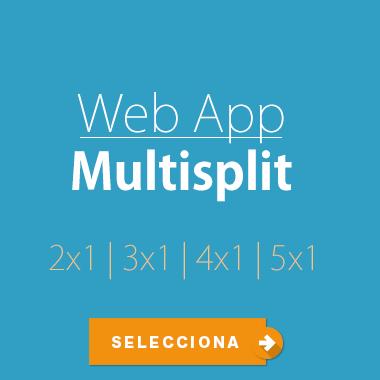 Selección multisplit on line