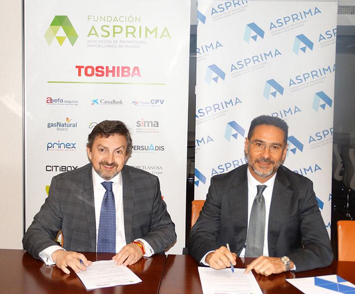 Toshiba firma acuerdo con ASPRIMA
