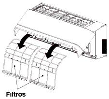 Filtros Toshiba, similares a los de Mitsubishi, Panasonic, Daikin, Fujitsu...