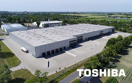Fábrica Toshiba en Europa