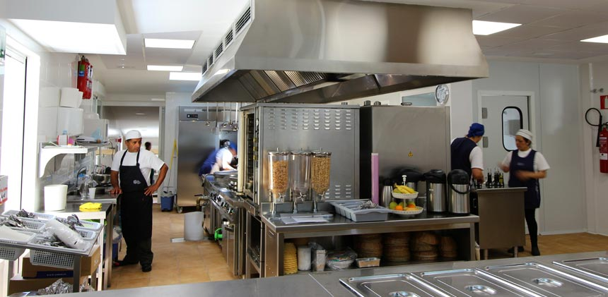 climatizar cocinas industriales