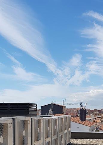 instalación de calefacción y agua caliente en Barcelona