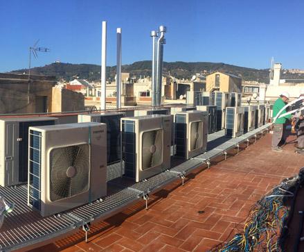 aire acondicionado en Barcelona