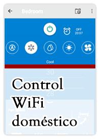 App control wifi doméstico para aire acondicionado