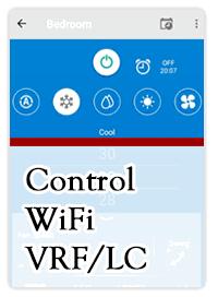 controsl wifi VRF
