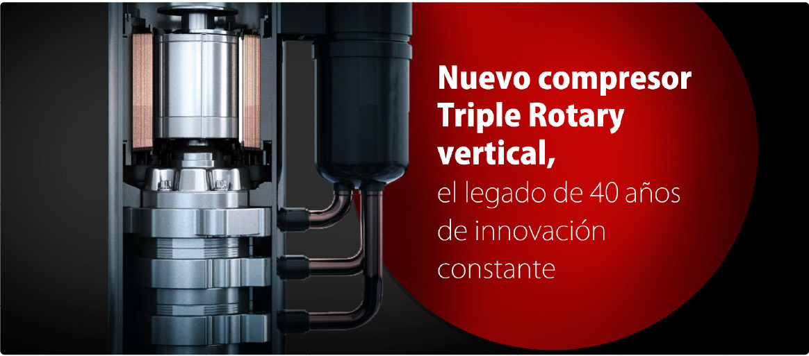 triple rotary toshiba