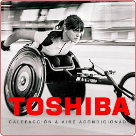 Patrocinio Toshiba Aire a Eva Moral
