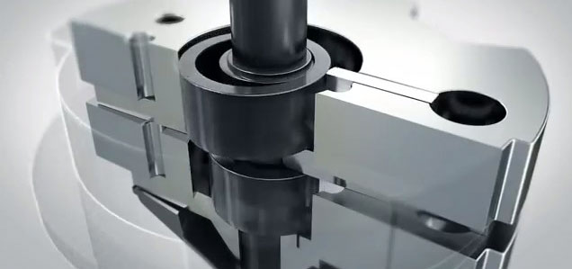Compresor Twin Rotary de Toshiba