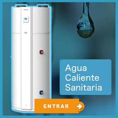 agua caliente de bajo consumo