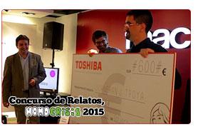 Entrega premio relatos Toshiba 2015