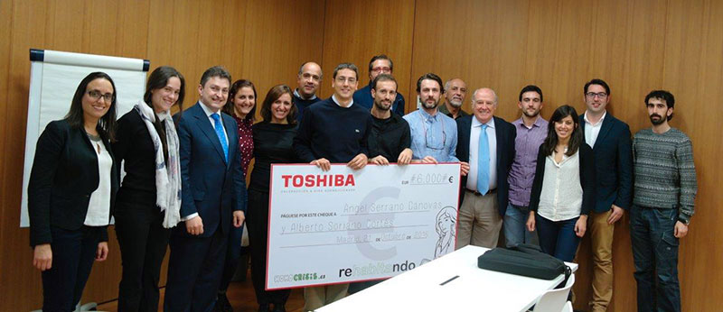 Entrega del premio rehabitando para arquitectos e ingenieros