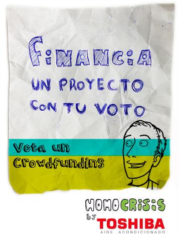 financia un crowdfunding con tu voto