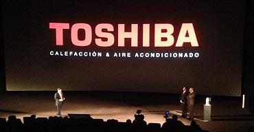 Evento Toshiba